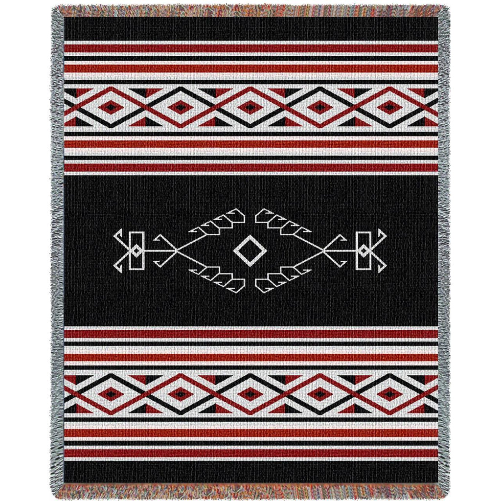 Southwest Desert Wind Woven Cotton Throw Blanket