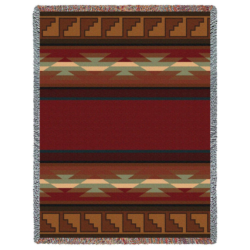 Southwest Pasqual Geometric Woven Throw Blanket