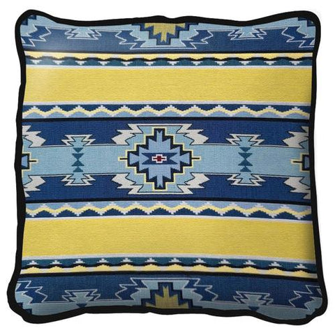 Southwest Rimrock Sun Tapestry Pillow