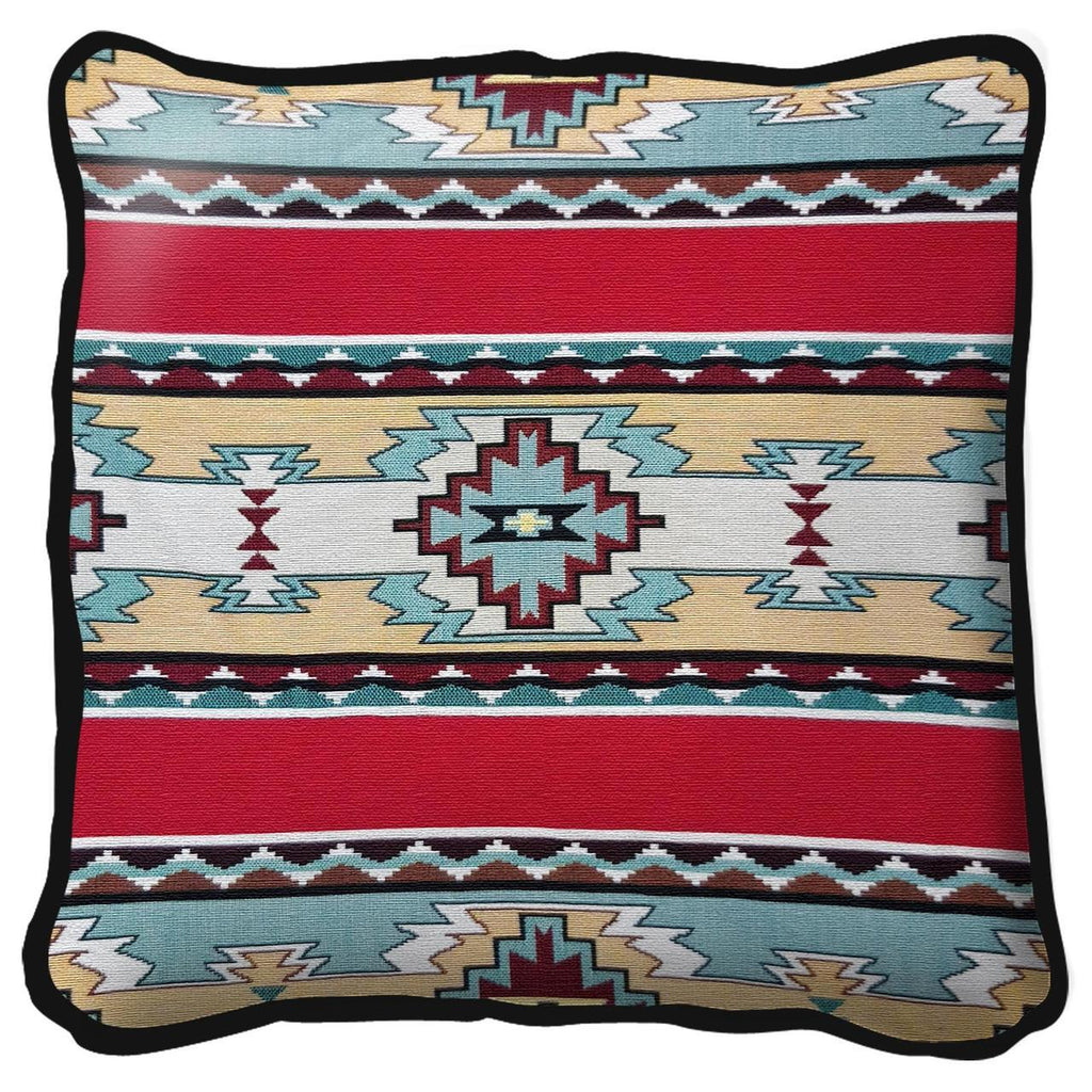 Southwest Rimrock Red Tapestry Pillow Cover