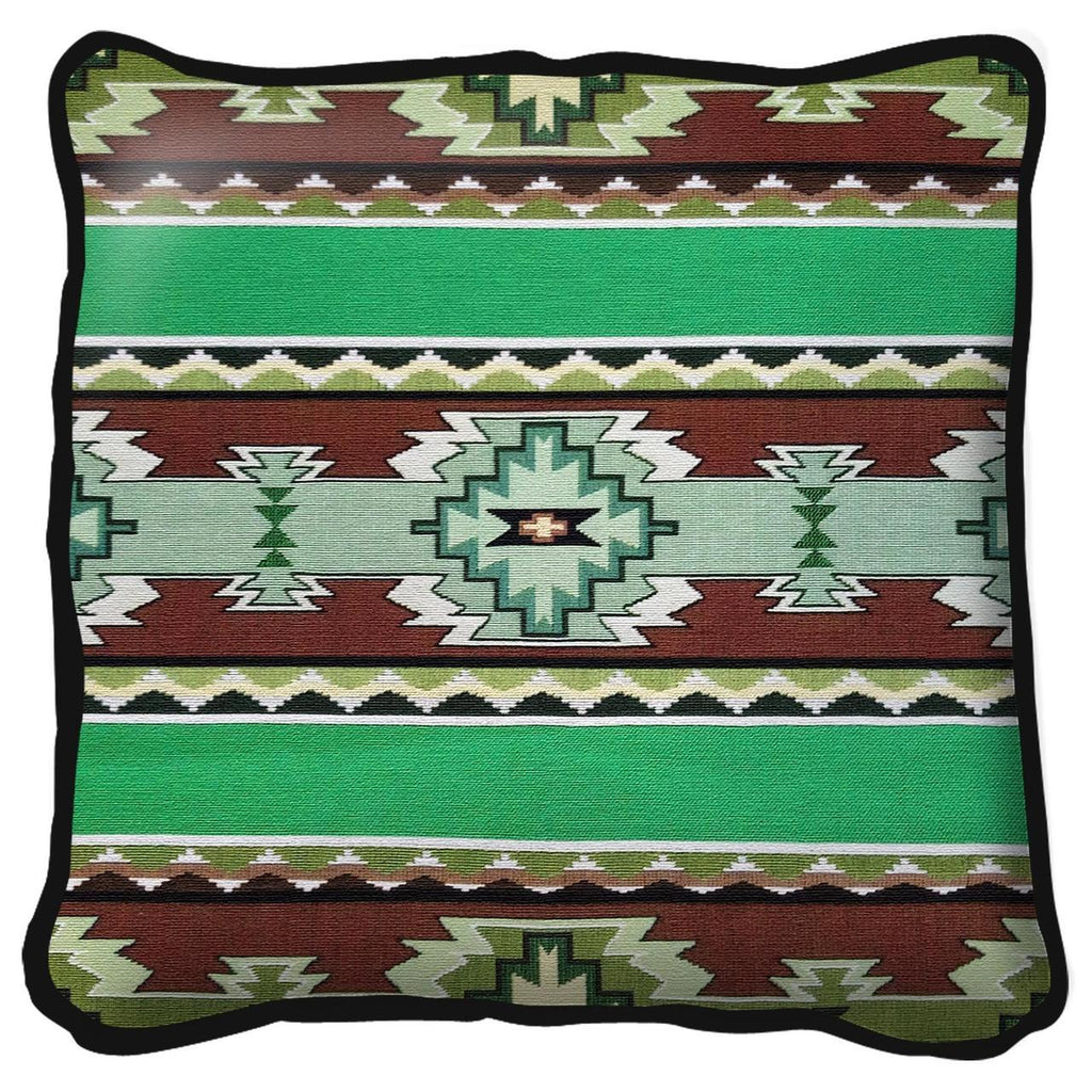 Southwest Rimrock Spring Tapestry Pillow