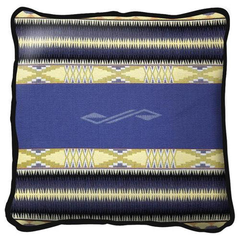 Southwest Concho Springs Plum Tapestry Pillow