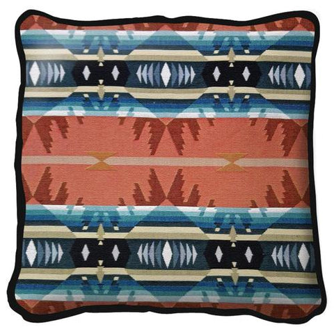 Southwest Cimarron Agate Tapestry Pillow