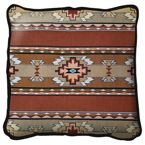 Southwest Rimrock Sandstone Tapestry Pillow