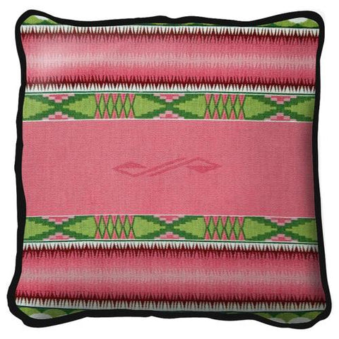 Southwest Concho Springs Rose Tapestry Pillow