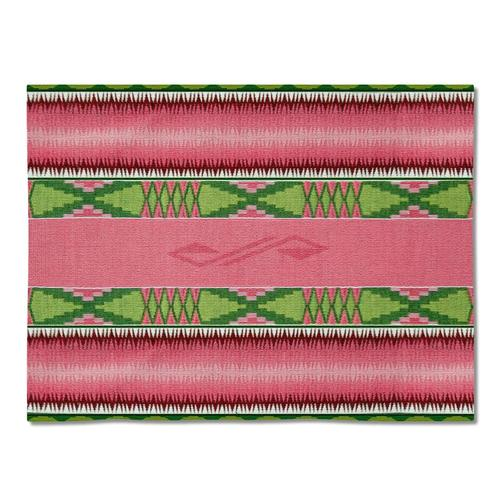 Southwest Concho Springs Rose Tapestry Placemats - Set of 4