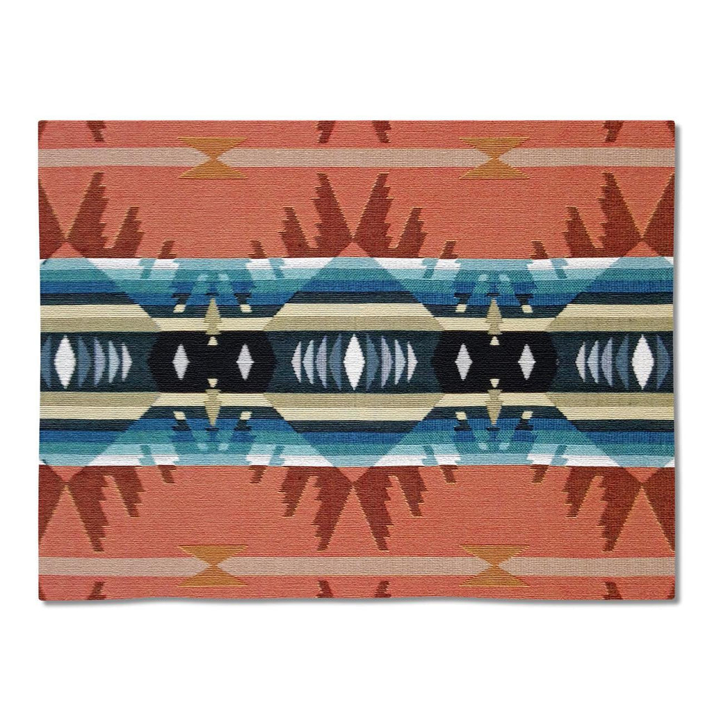 Southwest Cimarron Agate Tapestry Placemats - Set of 4