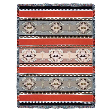 Southwest Rimrock Woven Cotton Throw Blanket