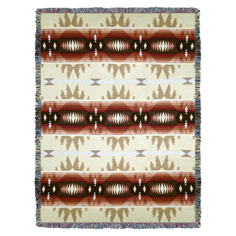 Southwest Cimarron Woven Cotton Throw Blanket