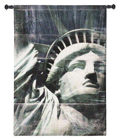 Miss Liberty Wall Tapestry by Nathan Bailey© - Cityscape|3 Sizes