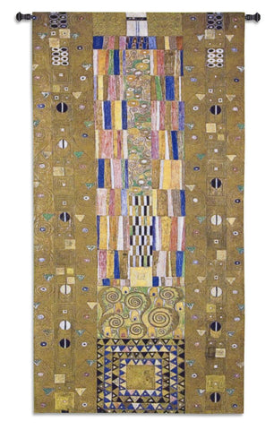 Gustav Klimt© Stoclet Frieze Knight Wall Tapestry|2 Sizes