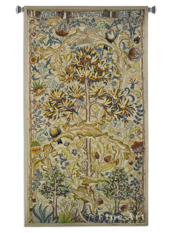 William Morris© European Summer Quince Wall Tapestry -