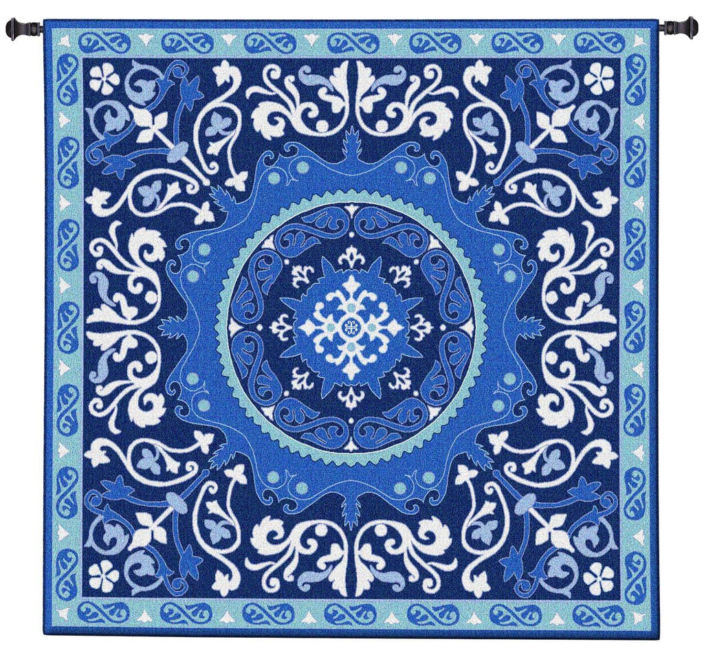 Suzani Celestial Wall Tapestry by Julianna James©|2 Sizes