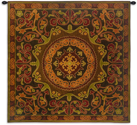 Suzani Radiance Wall Tapestry by Julianna James©|2 Sizes