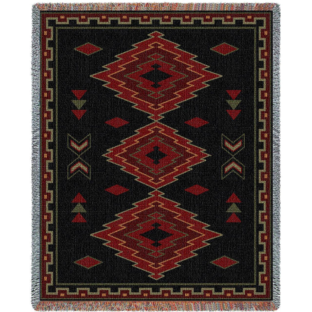 Taos Woven Throw Blanket -