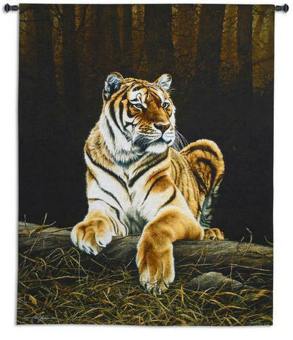 Grandeur Tiger Wall Tapestry by Paul James -   - 1