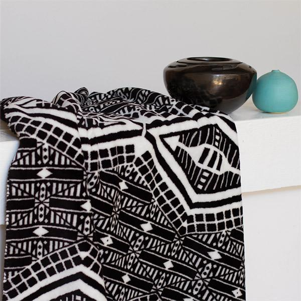 Denali Microplush™ Throw - Tribal