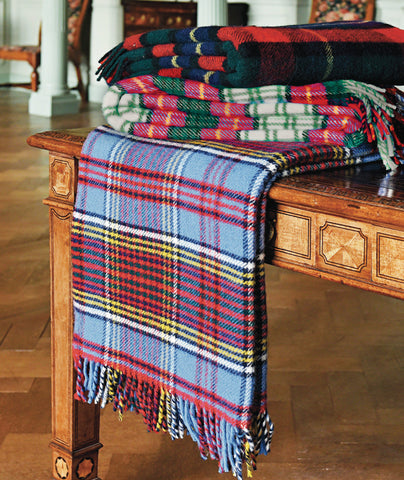 Tweedmill Traditional Tartan Wool Blankets - Anderson