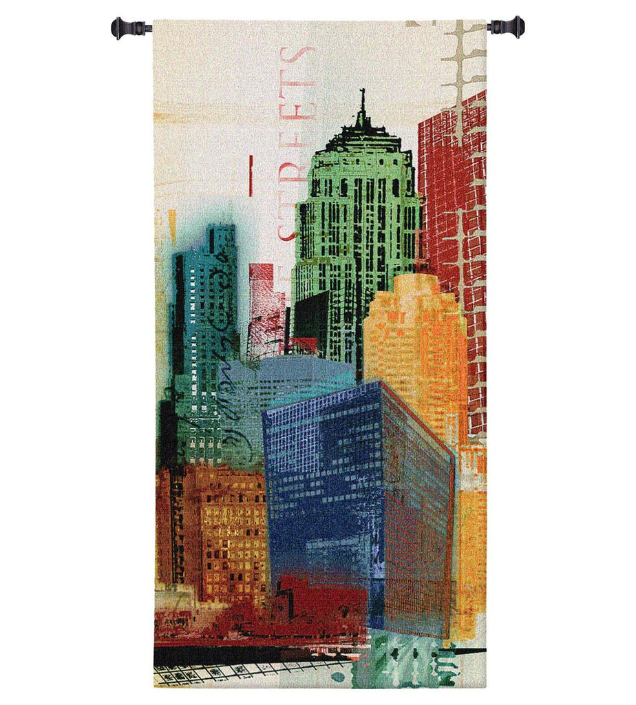 Urban Style II Wall Tapestry by Noah James© - Cityscape|3 Sizes
