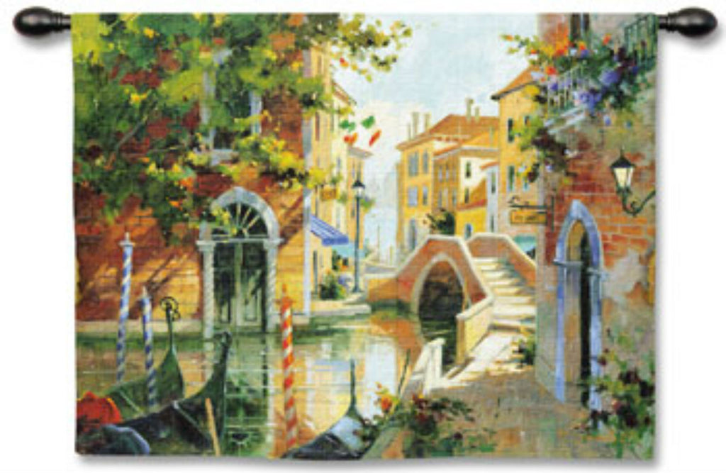 Venice Wall Tapestry by Marilyn Simandle© – Woven Art & Beyond LLC