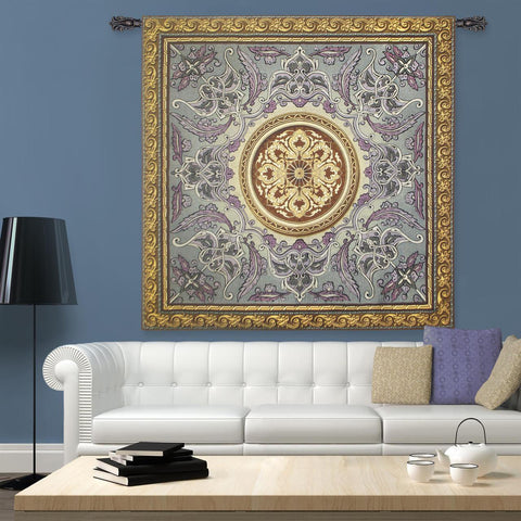 Violaceous Beauty Wall Tapestry