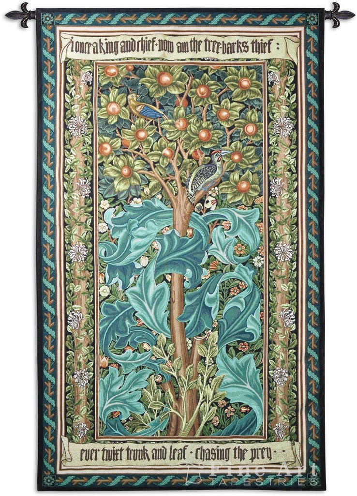 William Morris© Woodpecker Green Wall Tapestry -