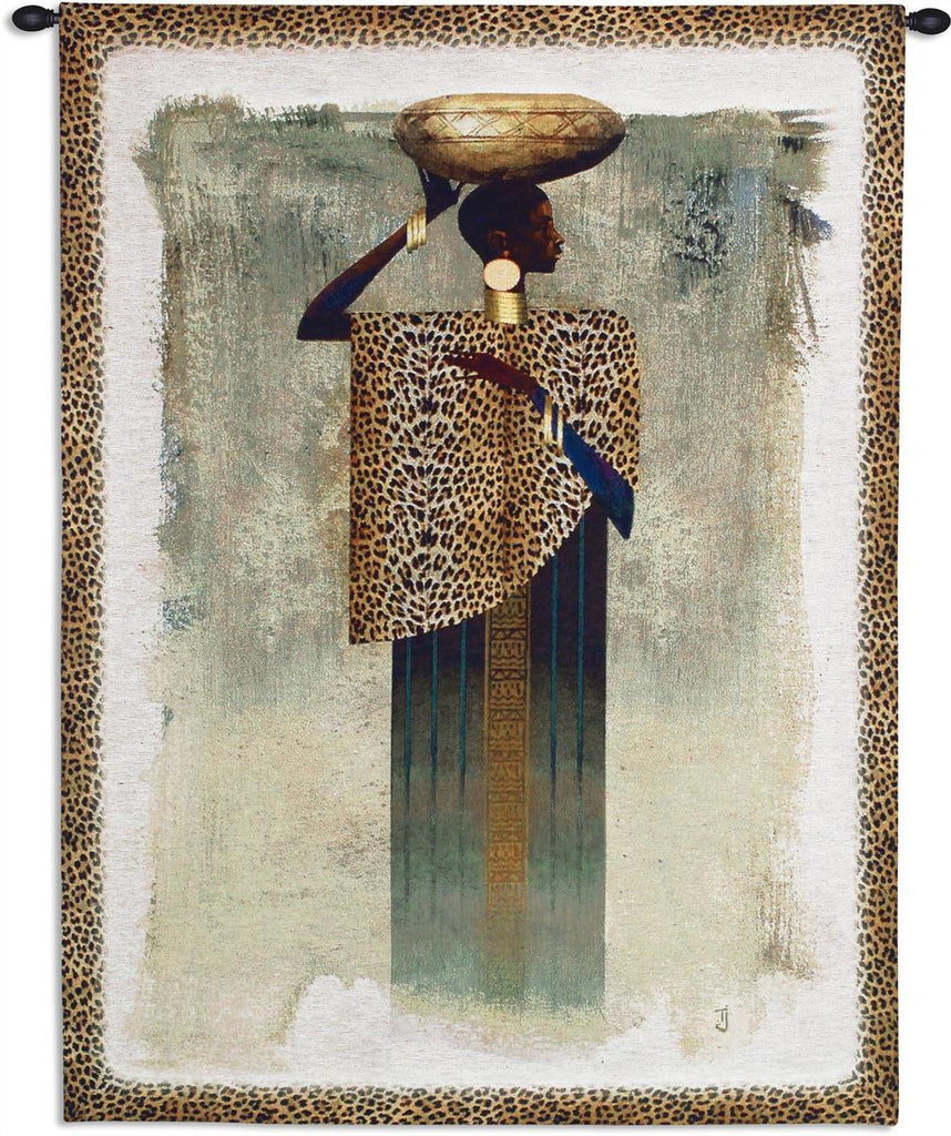 Worldly Woman Wall Tapestry by Teresa Joseph©
