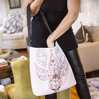 Totes w/Adjustable Handle - Custom Printed With Your Art