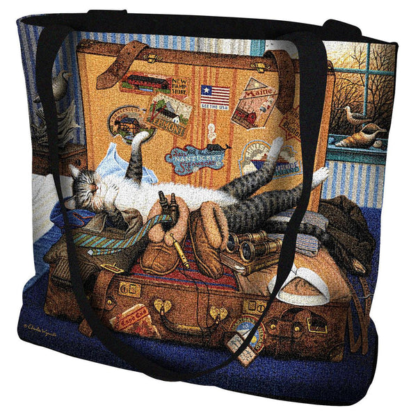 Charles Wysocki© Mabel The Stowaway Throw|Pillow Cover|Wall Tapestry|Tote