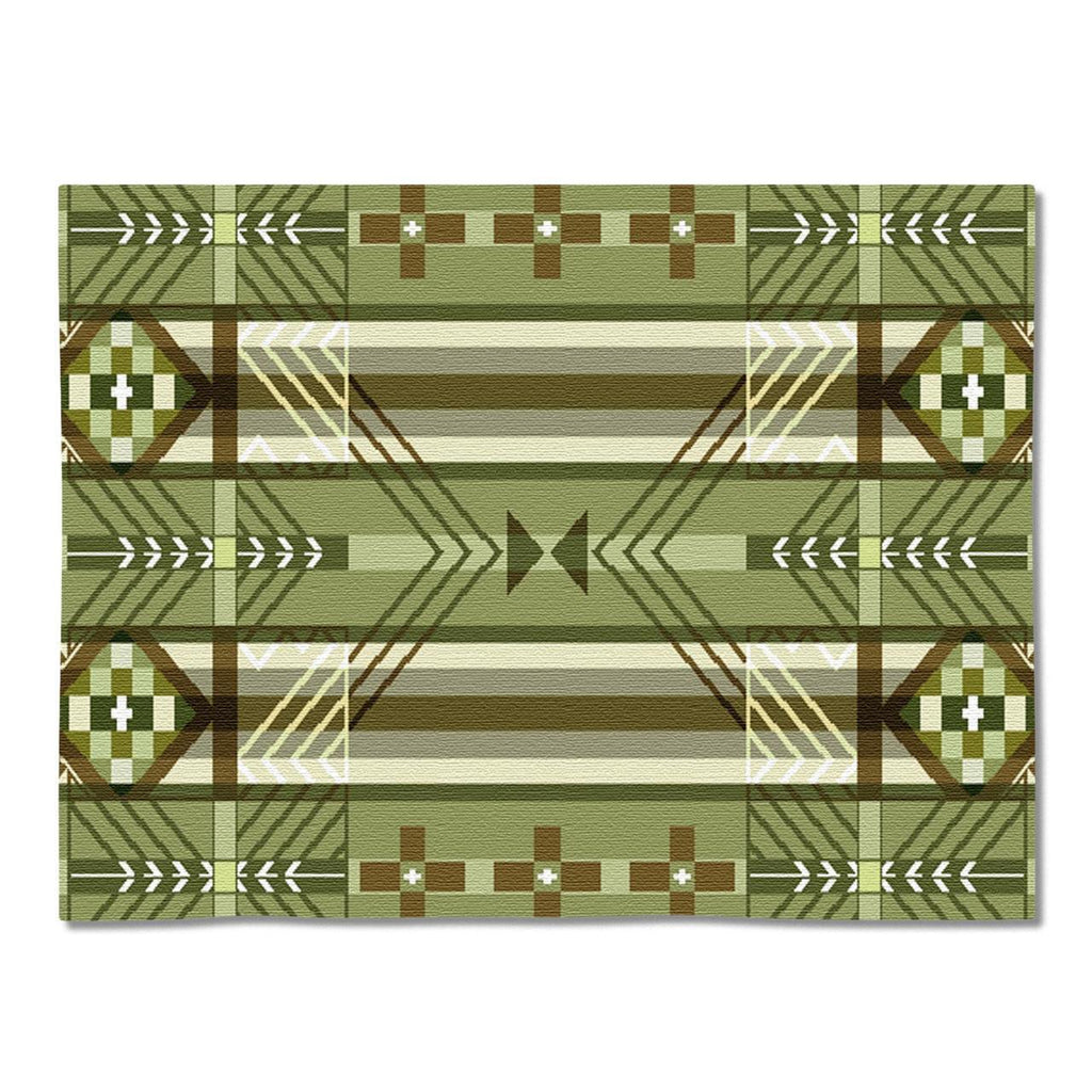Southwest Antelope Ridge Juniper Tapestry Placemats - Set of 4
