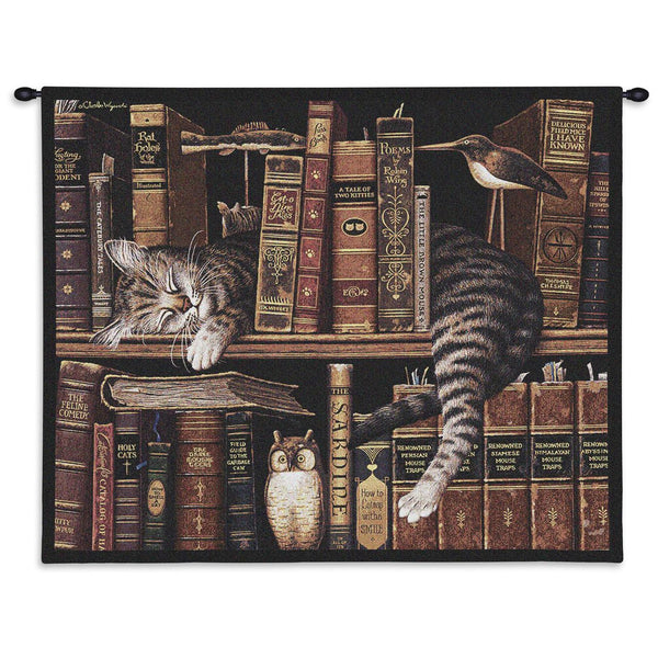 Charles Wysocki‎© Frederick The Literate Throw|Pillow Cover|Wall Tapestry