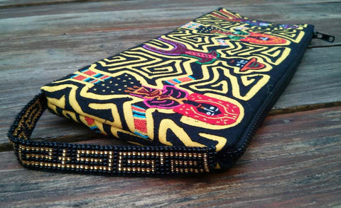 "MOLA Clutch Bag ""Gunas"" - One-of-A-Kind -   - 1"