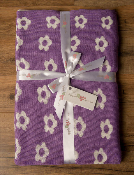 Bamboo Flower Baby Blankets|2 Colors -   - 2