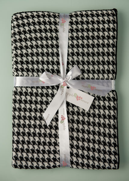 Bamboo Houndstooth Baby Blankets -   - 3