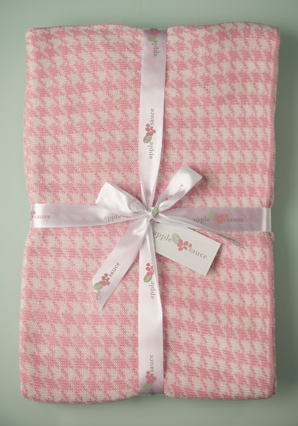 Bamboo Houndstooth Baby Blankets -   - 4
