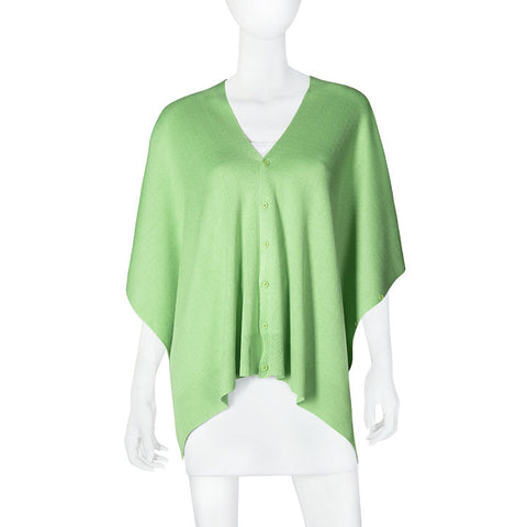 Bamboo Lime Green Scarf-Shawl-Cardigan 3 in 1 -   - 1