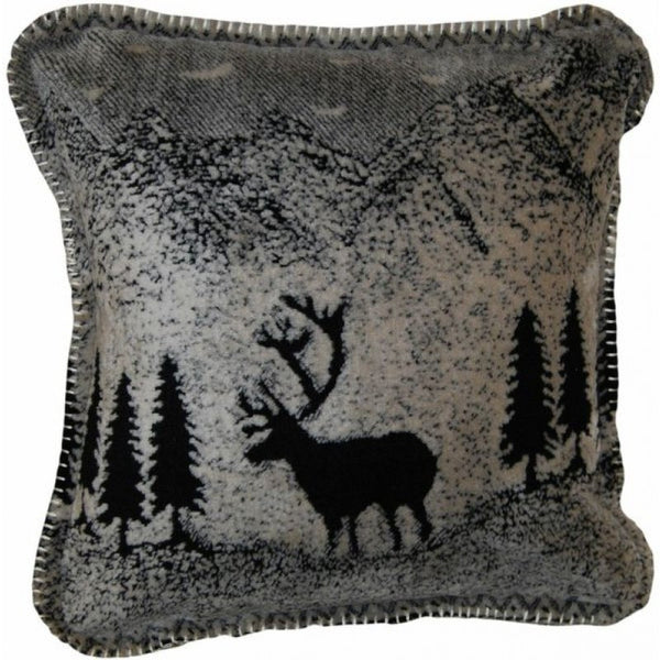 Denali Microplush™ Rustic Lodge Throw - Black Forest Friends -   - 3