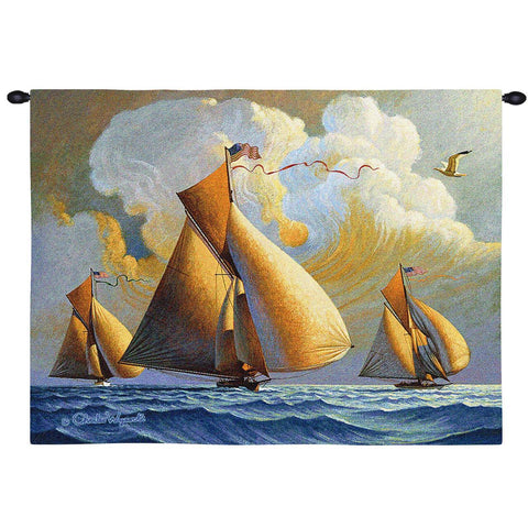 Searam Wall Tapestry  by Charles Wysocki©