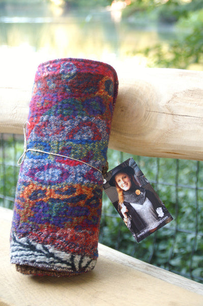 Confetti Upcycled Neckwarmer - One-of-a-Kind