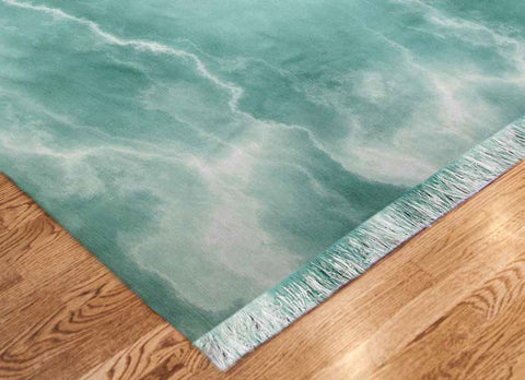 "Custom ""Chenille Rug"" w/Your Art Design/Photo/Graphic