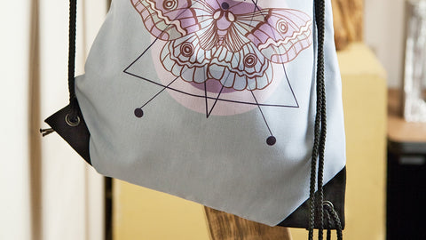 Drawstring Gym Bags - Custom Printed With Your Art