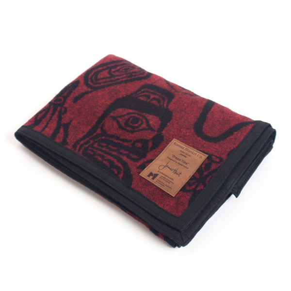James Hart© Haida Dreamtime Wool Blanket