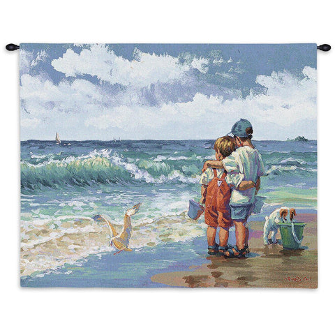 Summer Daze Wall Tapestry by Lucelle Raad©