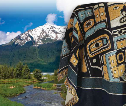 The Chilkat Voile Scarf -   - 4
