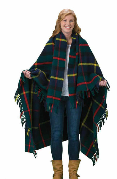 Tweedmill Traditional Tartan Wool Blankets-McLeod - Wales