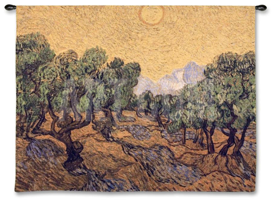Van Gogh© Olive Trees Wall Tapestry