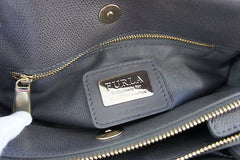 NWT Furla Mediterranean Mini Pebbled-Leather Tote, MIST MSRP $495 - No Ddustbag