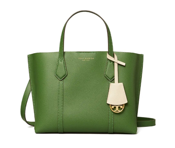 Tory Burch 56249 Perry Small Triple Compartment Tote Arugula