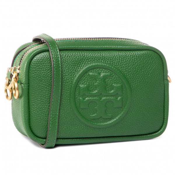 Tory Burch 55691 Perry Bombe Leather Arugula Crossbody Bag