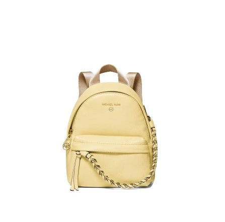 Michael Kors Slater Extra Small 30T0L04B0L Convertible Messenger Buttercup Backpack